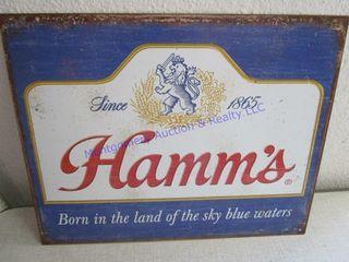 HAMM S BEER SIGN