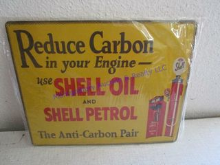 SHEll OIl   PETROl SIGN