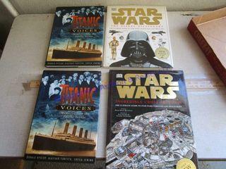 STAR WARS   TITANIC BOOKS