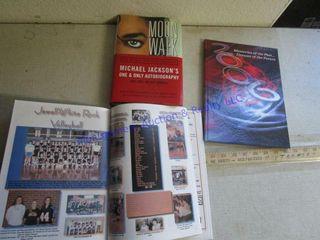 YEAR BOOK  MOONWAlK
