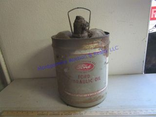 METAl FORD OIl CAN