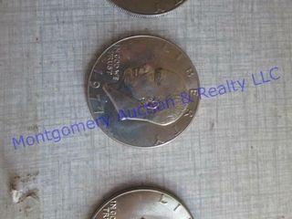 3 SIlVER DOllAR COINS