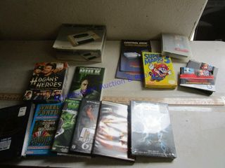 ASSORTED DVD S   NINTENDO GAMES