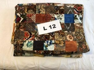 Quilt top  heavy 109 X98  approx