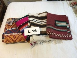 Indian throws and blanket