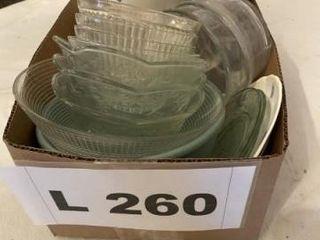 Misc  glass bowls  Pfalzgraf bowl with lid