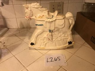 Vintage McCoy horse cookie jar