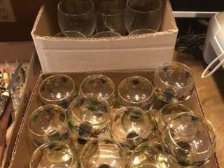 German Olive Green Roemer Grape Design