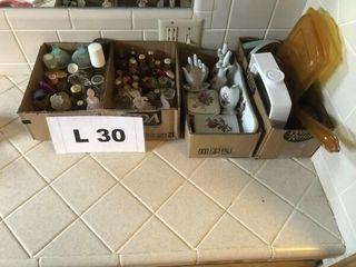 Vintage mini perfume bottles 2   boxes