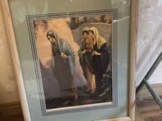 Misc  paintings and framed art