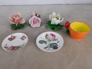 lot of misc  floral home decor