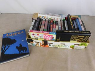 Box of Various Books
