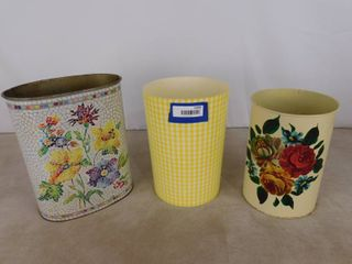 3 in home waste baskets