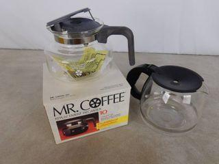 2 coffee pots