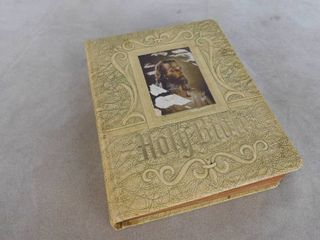 Holy bible 12 in H X 9 1 2 in W X 2 1 2 in D