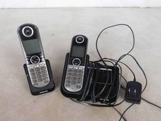 Motorola 2 home phone set