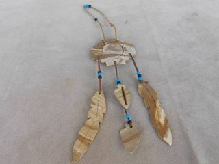 Native American wind chime  has been repaired