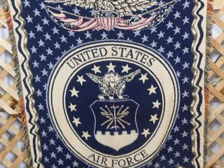 U S  Air Force throw