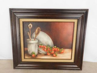 Baking themed hanging picture  great kitchen decor  26 1 2 in W X 22 1 2 in H