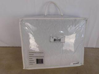 King white waterproof mattress pad