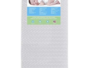 Dream On Me  Orthopedic Firm Foam Standard Crib Mattress  White  Full  5E5Wl