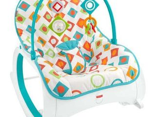 Fisher Price Infant to Toddler Rocker   Geo Diamonds