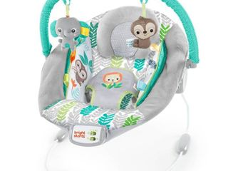 Bright Starts Cradling Bouncer Seat with Vibration and Melodies   Jungle Vines