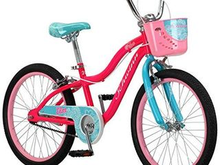 Schwinn Elm Girls Bike for Toddlers and Kids  20 Inch Wheels  Pink