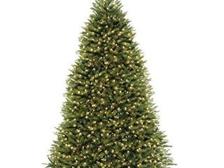 National Tree Dunhill Fir Tree with Dual Color lED lights   10 Feet