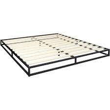Zinus Joseph 6 Inch Metal Platforma Bed Frame   Mattress Foundation   King Size