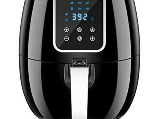 6 in 1 7 Quart Air Fryer  1800 Watt Hot Airfryer Oven with lCD Digital Screen and Temperature Control  ETl Certified