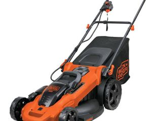 Black decker 40V Max  lithium 20 3 in 1 lawn Mower with  2  2 0 Ah Batteries   Orange