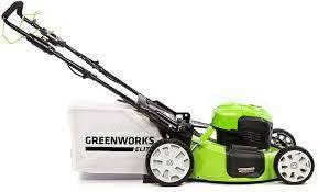 Greenworks 21 inch 40v Brushless Self propelled Mower 6ah Battery And Charger