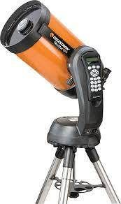 Celestron   NexStar 8 SE Schmidt Cassegrain Computerized Telescope   Orange
