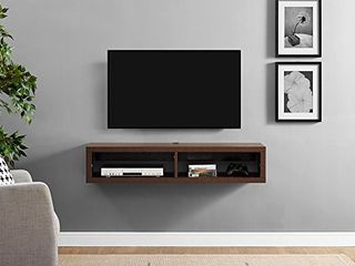 Martin Furniture Floating TV Console  48  Columbian Walnut