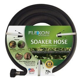 FlEXON 1 2 in x 75 ft Garden Soaker Hose