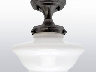 Design House 577502 Schoolhouse Modern Vintage Farmhouse Indoor Dimmable Ceiling light