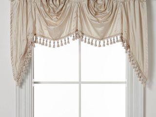 luxury Collection Dupioni Silk lined Austrian Valance