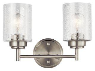 Kichler 45885 Winslow 2 light 13in Wide Bathroom Vanity light