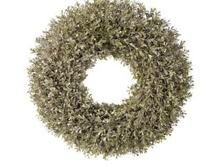 20in Champagne Boxwood Wreath