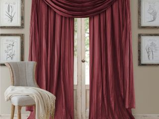 Elrene Athena 52in X 108in Window Panel With Scarf  Set of 3