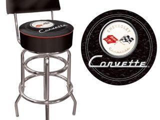 Officially licensed Corvette Bar Stool