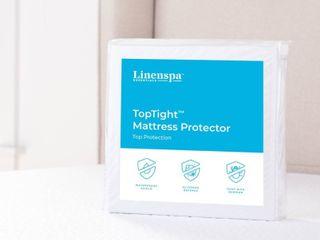 TopTight Premium Mattress Protector by linenspa Essentials   Twin Xl   White