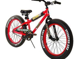 Krusher Fat Tire Bike 20in Red