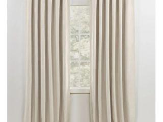 lauren Ralph lauren Sallie Blackout Back Tab Rod Pocket Curtain Panel  Retail 96 49