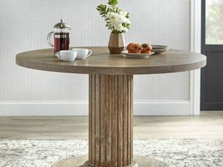 Isla Dining Table top only Rustic Natural   lifestorey