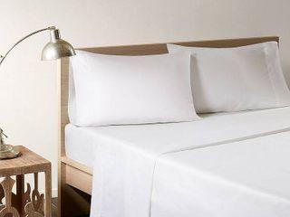 sleep philosophy bamboo Sheet Sets White QUEEN