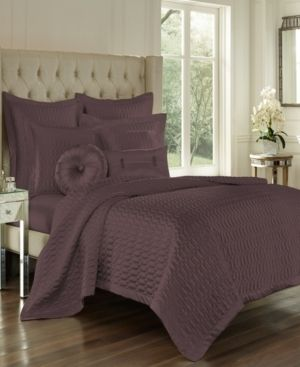 Saranda Satin Quilted Coverlet by Five Queens Court full queen