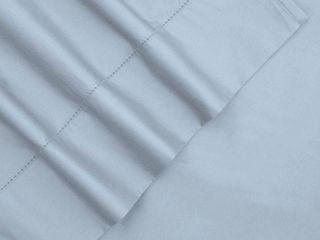 Tribeca living 800 TC 100  Egyptian Cotton Sateen Deep Pocket Sheet Set queen