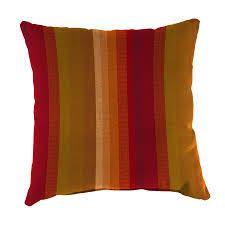 sunbrella outdoor striped pillows set of 2